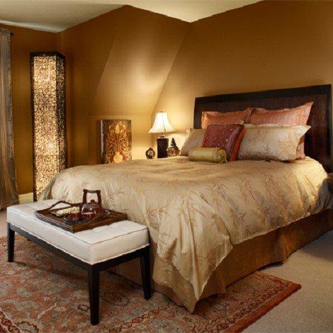 ベンジャミンムーア オーラ 2151-50 Bronzed Beige 天井の色