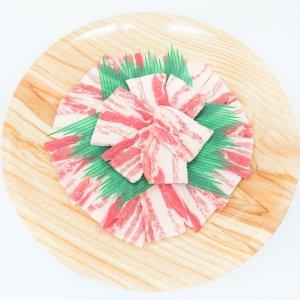 【桜島美湯豚】バラ(薄切り・焼肉)100g