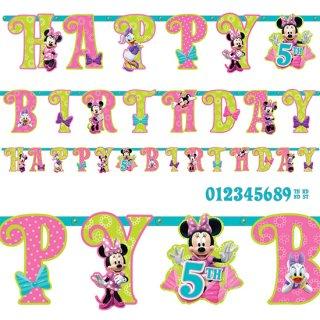 ディズニーレターバナー ミニー<br>【Disney Minnie】