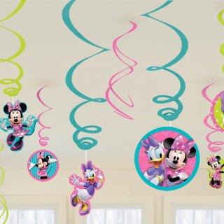スワールデコレーション ミニー<br>【Disney Minnie】