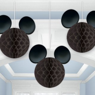 ハニカムデコレーション ミッキー<br>【Disney Mickey】