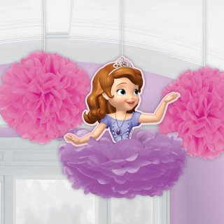 フラワーポムデコレーション ソフィア<br>【Disney Sofia】
