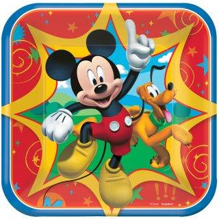 ペーパープレートS ミッキー<br>【Disney Mickey】