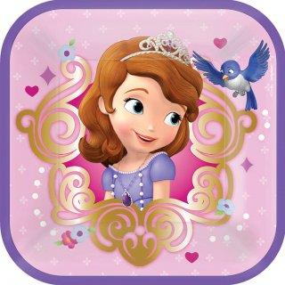 ペーパープレートS ソフィア<br>【Disney Sofia】