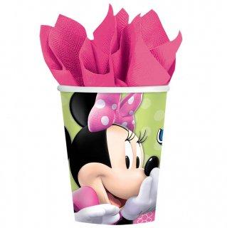 ペーパーカップ9oz ミニー<br>【Disney Minnie】