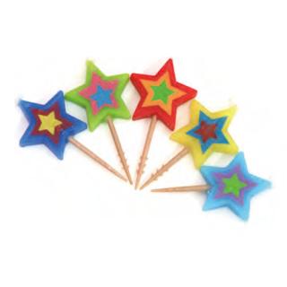 バースデーキャンドル スター<br>【Stars】