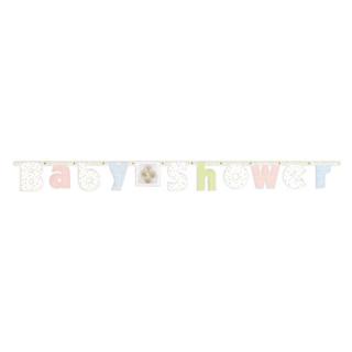 レターバナーM ベビーシャワー<br>【Baby Shower】