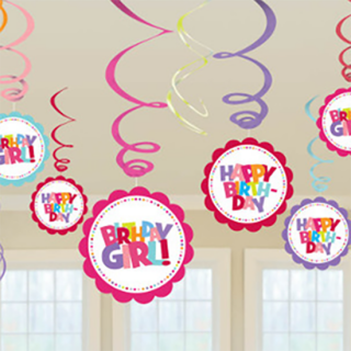 スワールデコレーション ガール<br>【Birthday Girl】
