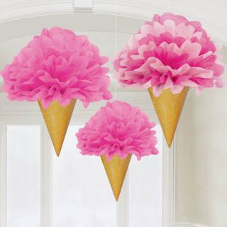 フラワーポムデコレーション アイスクリーム<br>【Ice Cream】