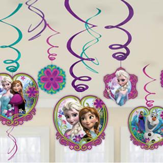 スワールデコレーション アナ&エルサ ディズニー フローズン アナと雪の女王 アナ雪<br>【Disney Anna&Elsa】
