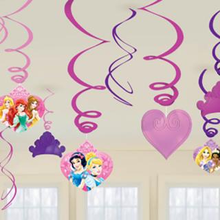 スワールデコレーション プリンセススパークル<br>【Disney Princess Sparkle】