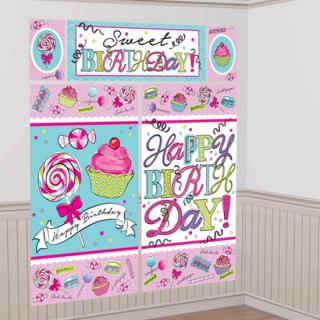 ウォールデコレーション スウィーツ<br>【Sweet Birthday】