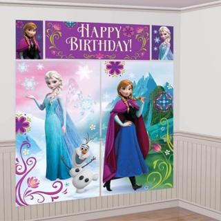 ウォールデコレーション アナ&エルサ ディズニー フローズン アナと雪の女王 アナ雪<br>【Disney Anna&Elsa】