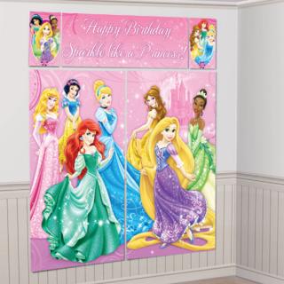ウォールデコレーション プリンセススパークル<br>【Disney Princess Sparkle】