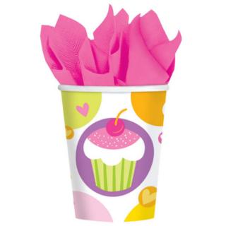 ペーパーカップ9oz カップケーキ<br>【Cupcake】