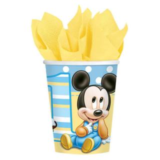 ペーパーカップ9oz ベビーミッキー<br>【Disney Baby Mickey】