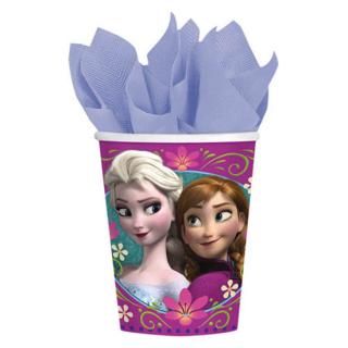 ペーパーカップ9oz アナ&エルサ ディズニー フローズン アナと雪の女王 アナ雪<br>【Disney Anna&Elsa】