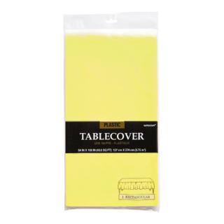 テーブルカバー ライトイエロー<br>【Light Yellow】
