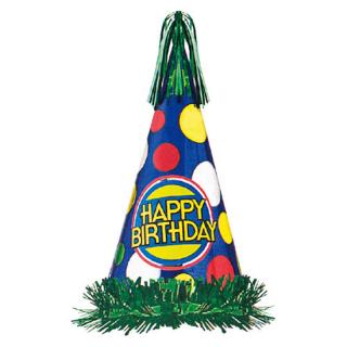コーンハットL ハッピーバースデー<br>【Happy Birthday】