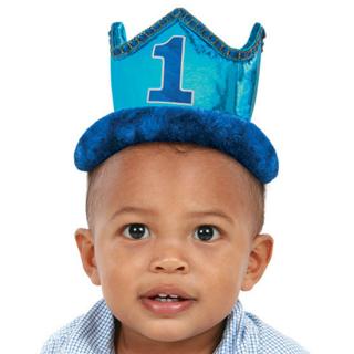 フェルトクラウン 1stバースデーボーイ<br>【1st Birthday Boy】