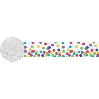 クレープストリーマー マルチドッツ<br>【Multi Dots】