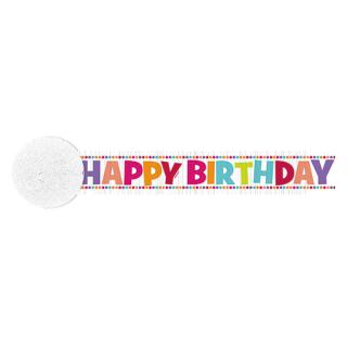 クレープストリーマー バースデーガール<br>【Birthday Girl】