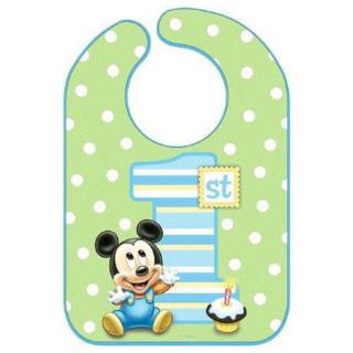 ビブ ベビーミッキー<br>【Disney Baby Mickey】
