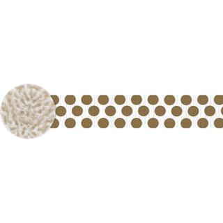 クレープストリーマー ドッツゴールド<br>【Dots Gold】