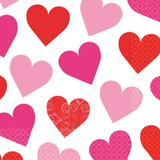 ペーパーナプキンM キューティーハート<br>【Cutie Heart】