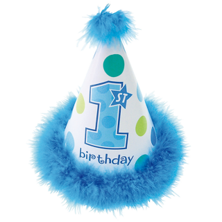 コーンハットSS 1stバースデーボーイ<br>【1st Birthday Boy】