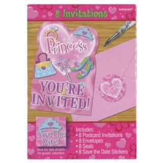 インビテーションカード プリンセス<br>【Princess】