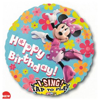 歌うバルーン ミニー<br>【Disney Minnie】