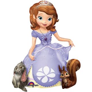キャラクターバルーンL ソフィア<br>【Disney Sofia】