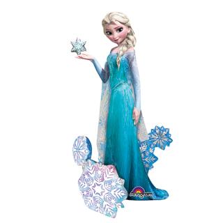 キャラクターバルーンL エルサ ディズニー フローズン アナと雪の女王 アナ雪<br>【Disney Elsa】