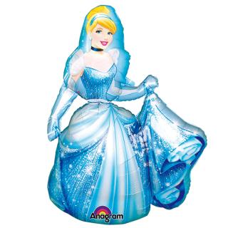 キャラクターバルーンL シンデレラ<br>【Disney Cinderella】