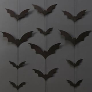 【Ginger Ray】ハロウィン バット ウォールデコレーション トリックオアトリート バックドロップ  コウモリモチーフ【HALLOWEEN】(TT-603)