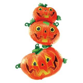 BIG ハロウィン パンプキン かぼちゃ バルーン フィルム風船【HALLOWEEN】