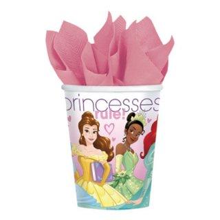 ディズニープリンセス ペーパーカップ9oz プリンセスドリーム 8個入り【Disney Princess】