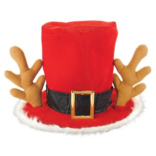 クリスマスパーティー サマッドハッター クリスマスハット トナカイ 帽子【Christmas】