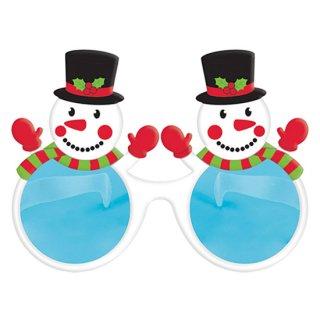 クリスマスパーティー  パーティーグラス  ジャイアントスノーマン  雪だるま めがね【 Christmas 】