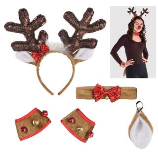 【クリスマスパーティー】トナカイ コスチューム レインディア (reindeer)【Christmas】