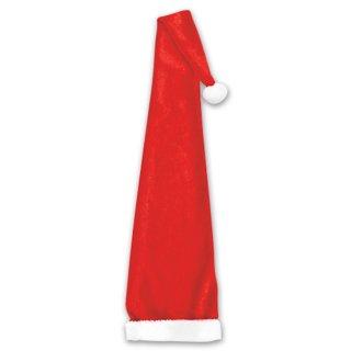 クリスマスパーティー  ロング サンタ帽子 サンタクロース帽子 サンタハット  【Christmas】