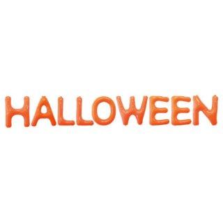ハロウィン エアポップレターバルーン ビニール製 風船 オレンジ<br>【HALLOWEEN】