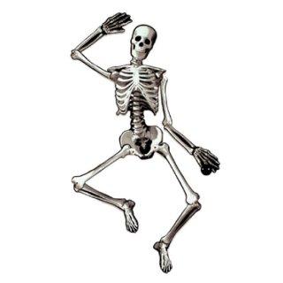 ハロウィン  ジョインテッドカットアウトスケルトン 骸骨  壁の飾り 【HALLOWEEN】