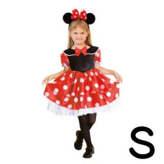 【子供用】コスチューム   仮装  チャイルド  S  ディズニー  ミニー   【Disney Minnie】