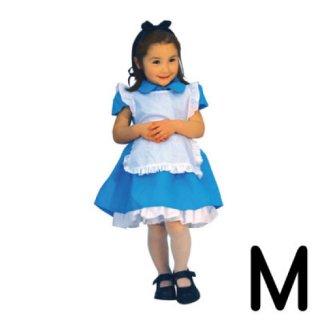 【子供用】コスチューム   仮装  チャイルド  M  ディズニー  アリス   【Disney】