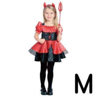 【子供用】コスチューム   仮装  チャイルド  M  プリティデビル  小悪魔  ハロウィン
