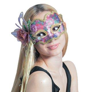 【大人用】 ハロウィン  ドミノマスク   ファンシーフラワー  仮装  コスプレ  【HALLOWEEN】