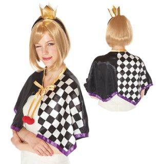【大人用】クラウンケープセット   ハロウィン クリスマス コスプレ 仮装  衣装