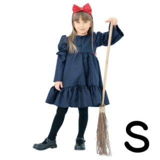 【子供用】コスチューム   仮装  チャイルド  S  リボンウィッチ  魔女の宅急便キキ風   コスプレ